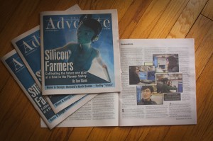 valley advocate cover and images